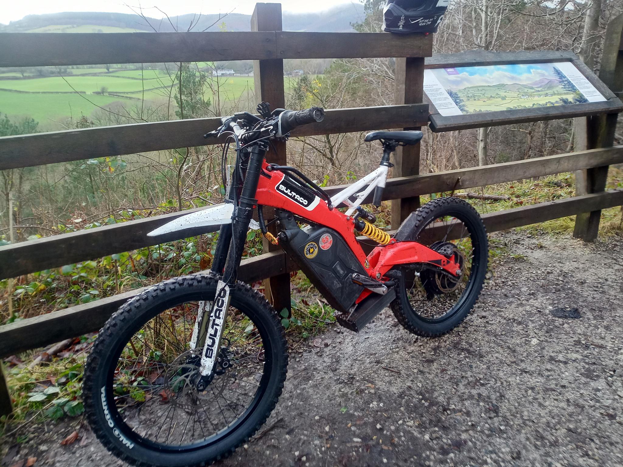 Wyde Rides Custom Bultaco Brinco E-Bike Services UK
