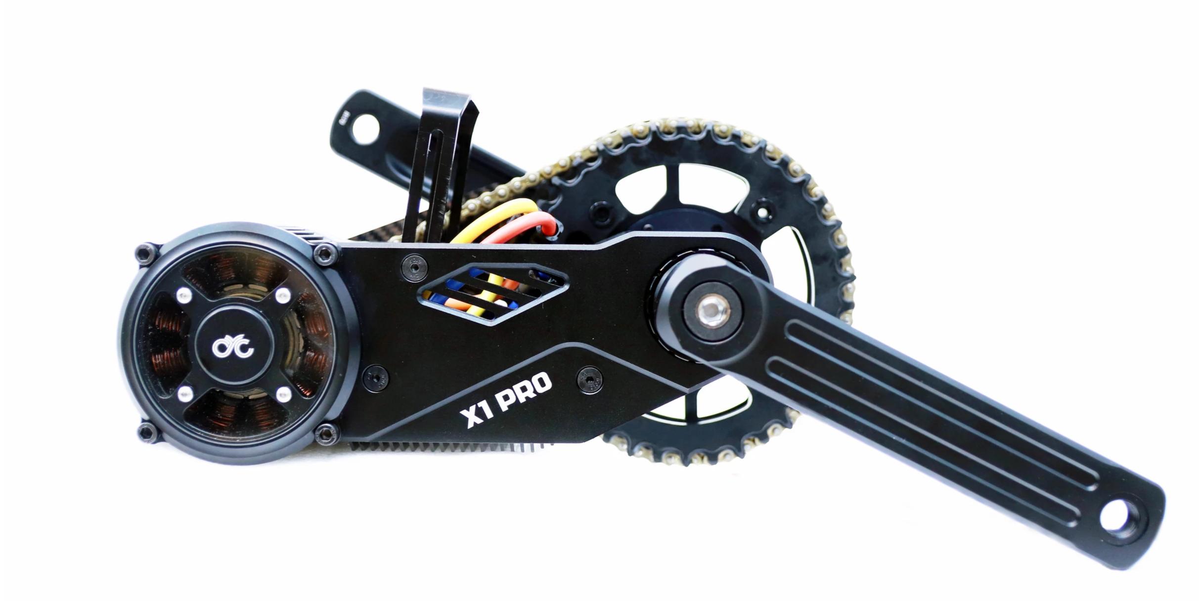 wylde rides ebike X1 PRO GEN 2 motor